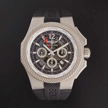 Breitling Bentley GMT Automatic // EB043210/M533-222S // Store Display