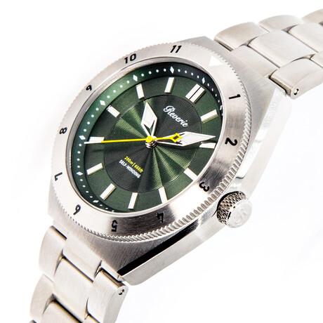 Reverie Diver Automatic // Green Diver 12