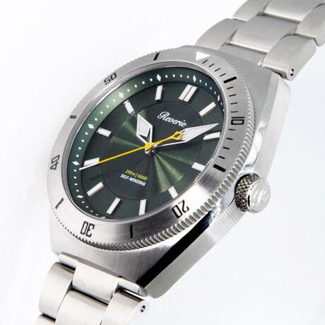 Reverie Diver Automatic // Green Diver 60