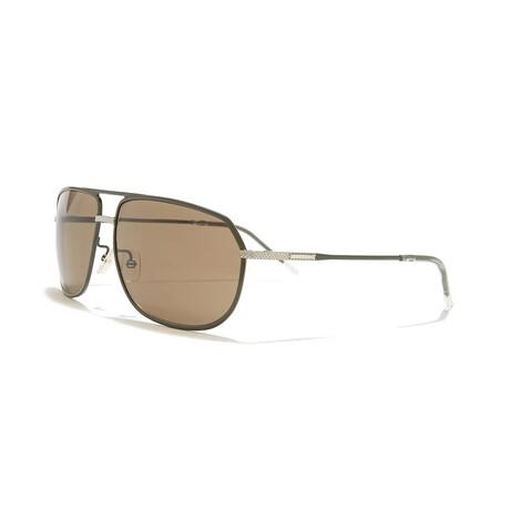 Men's DIOR0184FS Sunglasses // Khaki + Brown