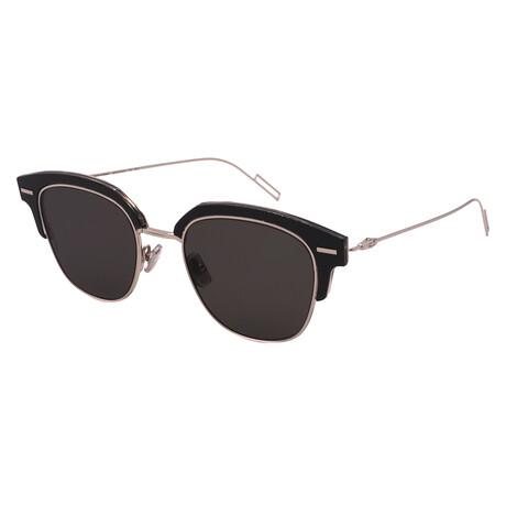 Men's TENSITY-7C5 Square Sunglasses // Black + Crystal