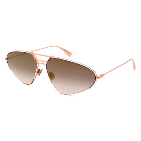 Men's STELLAIRE-5-DDB Aviator Sunglasses // Gold + Copper