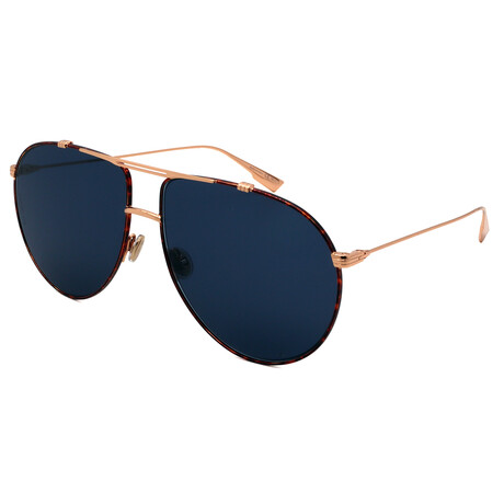 Dior // Men's MONSIEUR1-6J Aviator Sunglasses // Gold + Havana