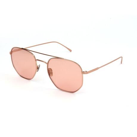 Lacoste // Unisex L880S Sunglasses // Light Pink