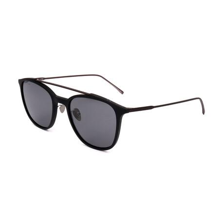 Lacoste // Unisex L885S Sunglasses // Black