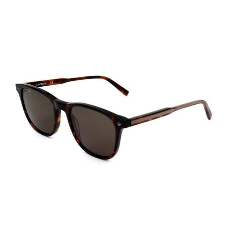 Lacoste // Unisex L880SPC Sunglasses // Havana