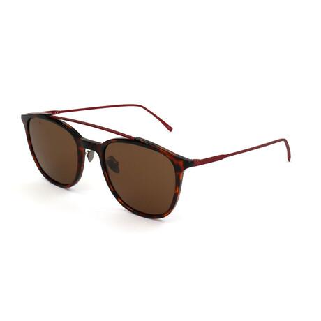Lacoste // Unisex L206SPC Sunglasses // Brown