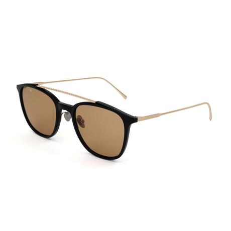 Lacoste // Unisex L602SND Sunglasses // Havana