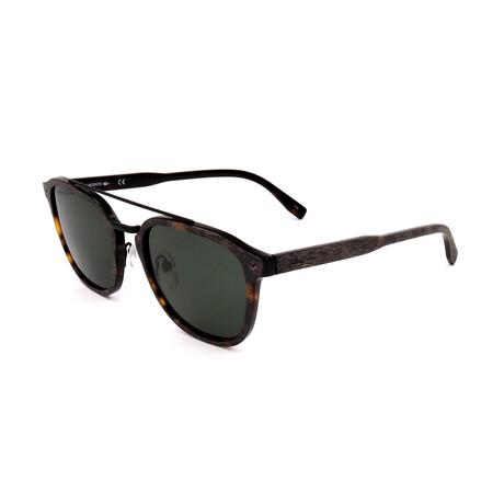 Lacoste // Unisex L885SPCP Polarized Sunglasses // Tortoise