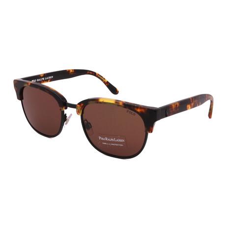 Polo // Men's PH4152-53173 Square Sunglasses // Havana