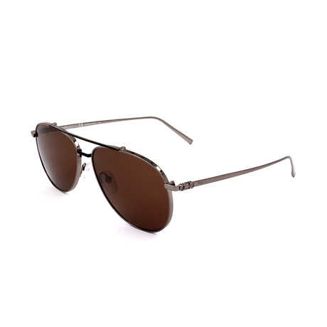 Men's SF201S Sunglasses // Shiny Gunmetal