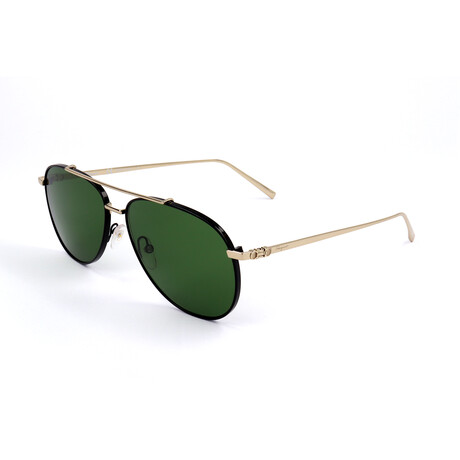 Men's SF201S Sunglasses // Shiny Gold + Black