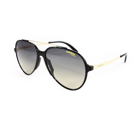Carrera // Men's 118S Sunglasses // Shiny Black