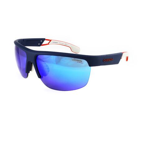 Carrera // Men's 4005S Sunglasses // Matte Blue