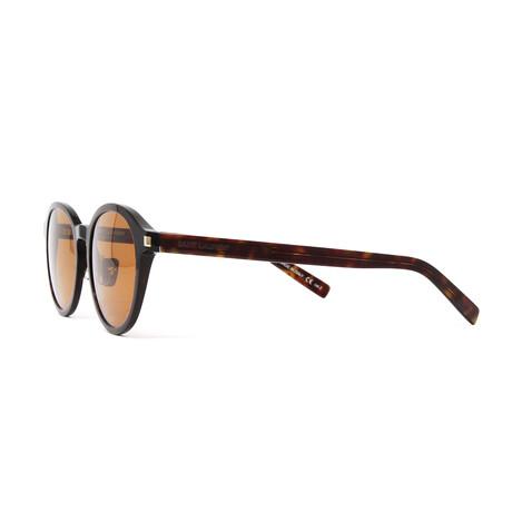 Yves Saint Laurent // Men's SL169F Slim Sunglasses V2 // Havana