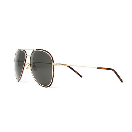 Yves Saint Laurent // Men's SL294 Sunglasses // Gold