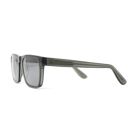 Yves Saint Laurent // Men's SLM13 Sunglasses // Green