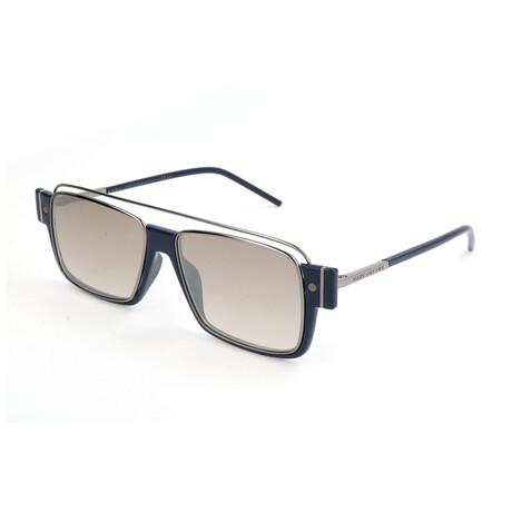 Men's 3-S U5Z-NQ Sunglasses // Blue + Dark Ruthenium
