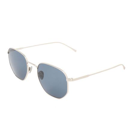 Lacoste // Unisex L880S Sunglasses // Silver