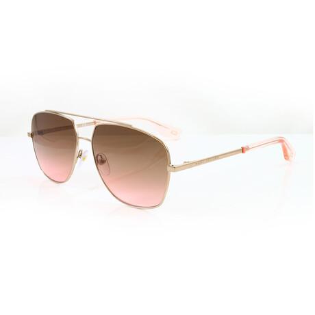 Men's 271S Sunglasses // Gold + Pink