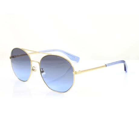 Men's 327S Sunglasses // Gold + Blue