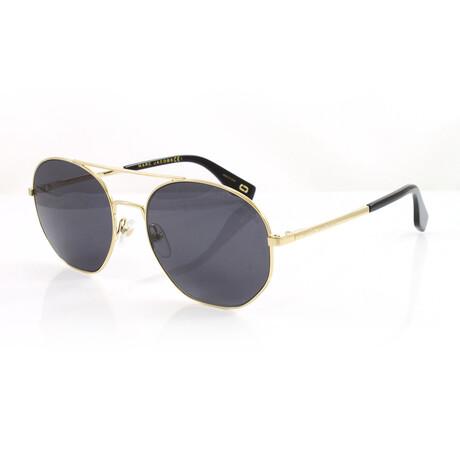 Men's 327S Sunglasses // Antique Gold + Dark Gray