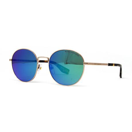 Men's 272-S Sunglasses // Gold + Blue Green