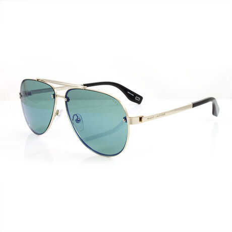 Men's 317S Sunglasses // Pale Gold + Blue