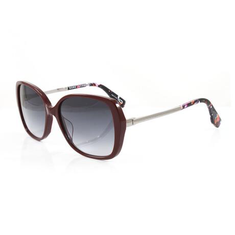 Men's 304S Sunglasses // Burgundy + Silver