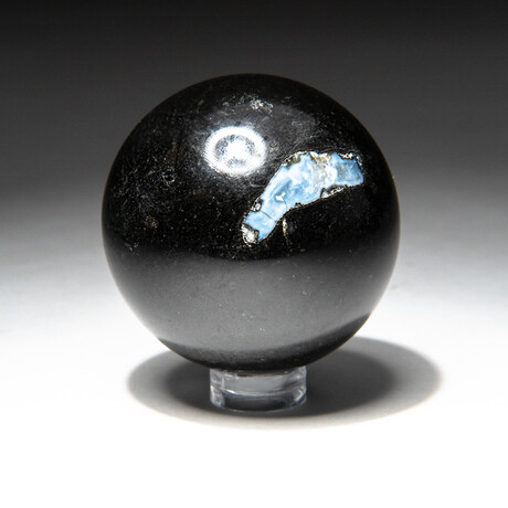 Genuine Polished Black Tourmaline Sphere // V1