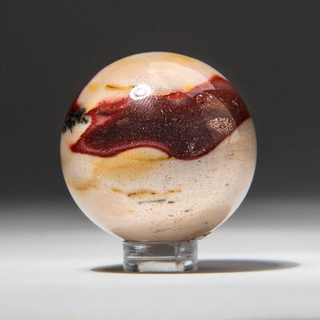 Genuine Polished Mookaite Sphere