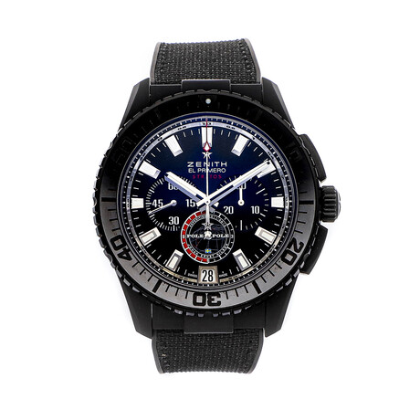 Zenith El Primero Stratos Flyback Chronograph Limited Edition Automatic // 24.2062.405/27.R515 1 // Pre-Owned