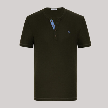 Dallas Short Sleeve Polo // Green (S)