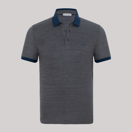 Harry Short Sleeve Polo // Antracite (S)