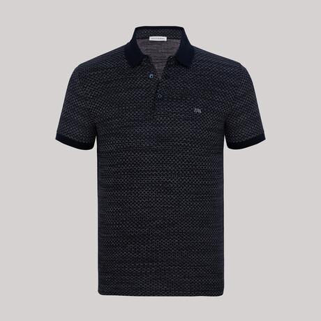 Balboa Short Sleeve Polo // Navy (S)