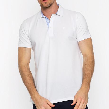 Prague Short Sleeve Polo // White (S)