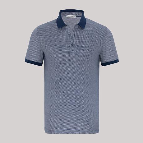 Bay Short Sleeve Polo // Navy (S)