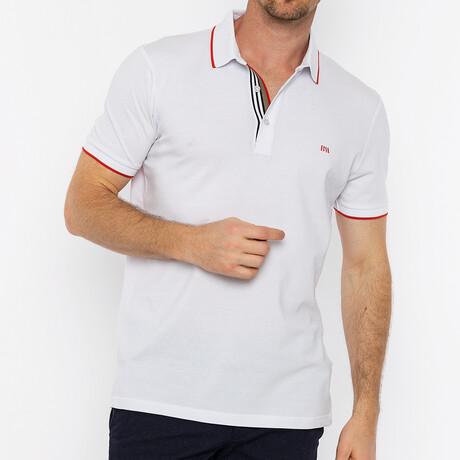 Presidio Short Sleeve Polo // White (S)
