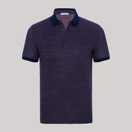 Polk Short Sleeve Polo // Bordeaux (S)