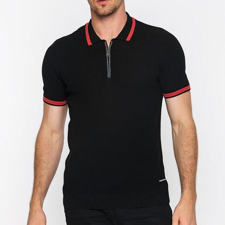 Sacramento Short Sleeve Polo // Black (S)