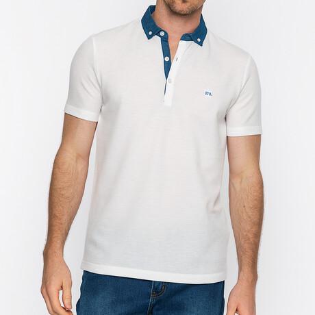 Tucson Short Sleeve Polo // White (S)