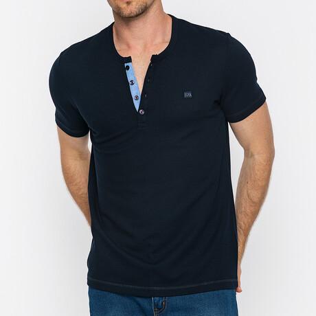 Raleigh Short Sleeve Polo // Navy (S)