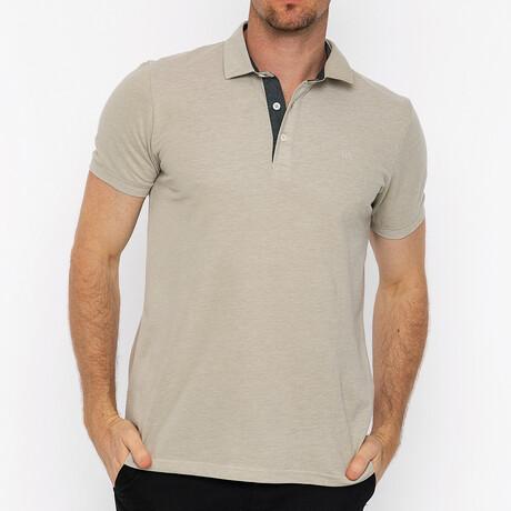 Monte Carlo Short Sleeve Polo // Beige (S)