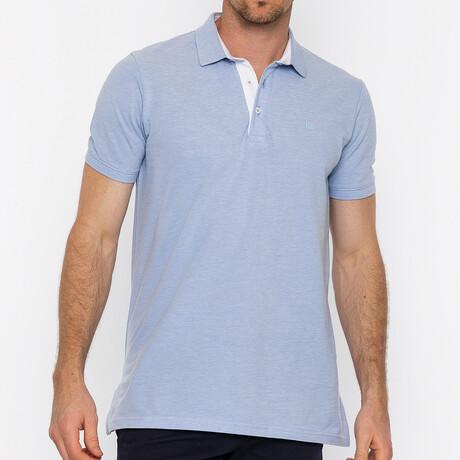 Milano Short Sleeve Polo // L.Blue (S)
