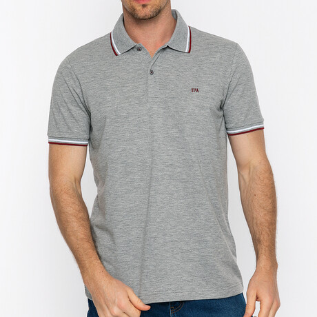 Tulsa Short Sleeve Polo // Gray Melange (S)