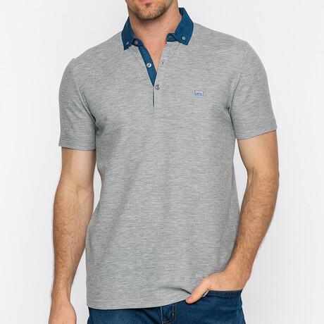 Tahoe Short Sleeve Polo // Gray Melange (S)