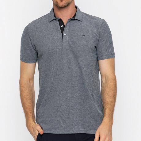 Canne Short Sleeve Polo // Black (S)