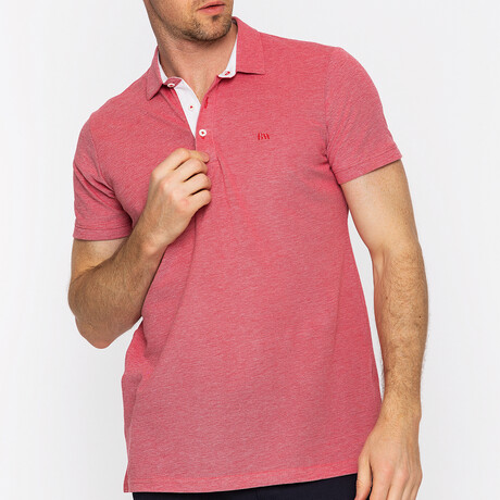 Dante Short Sleeve Polo // Red (S)