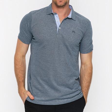 Jax Short Sleeve Polo // Navy (S)