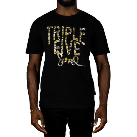 Triple Five Soul Logo Tee // Black (S)